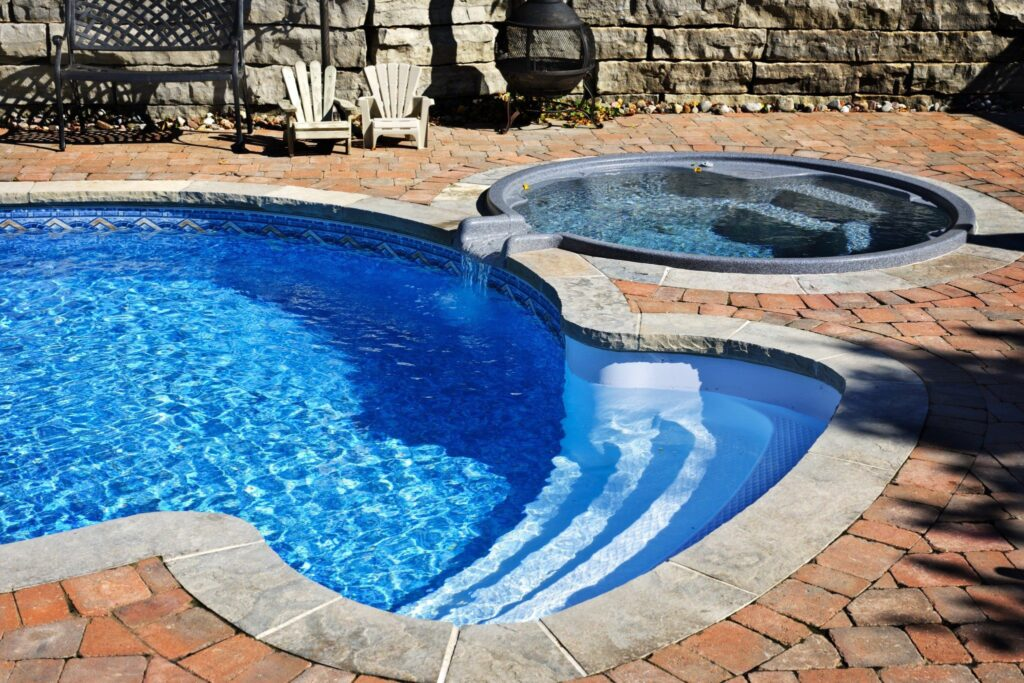 pool deck installation New Bern NC pool deck ideas pool deck design pool pavers and coping