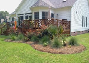 Lawn Care, Landscaping, Pinestraw Installation in New Bern,NC