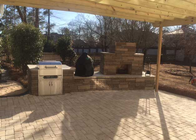 Outdoor Kitchen Installation Atlantic Beach NC