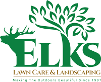 Elks Lawn Care Logo