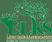Elks Lawn Care Logo
